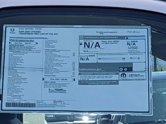 2020 Ram 5500 Regular Cab DRW 4x2, Scelzi CTFB Contractor Body #LG151862 - photo 17
