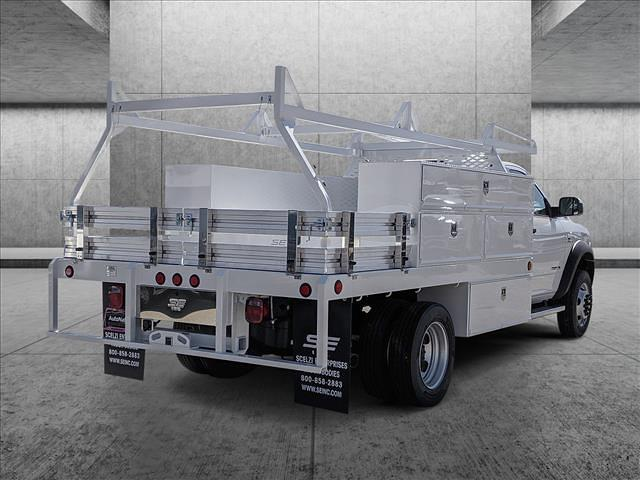 2020 Ram 5500 Regular Cab DRW 4x2, Scelzi SCTFB Contractor Body #LG151863 - photo 3