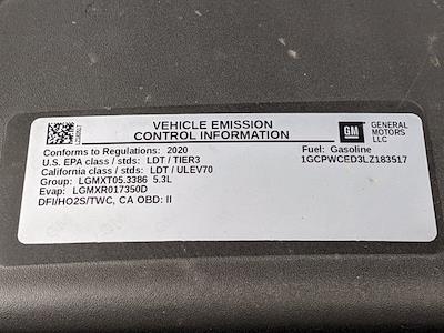 2020 Chevrolet Silverado 1500 Crew Cab 4x2, Pickup #LZ183517 - photo 24