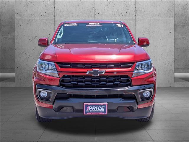 2021 Chevrolet Colorado Crew Cab 4x2, Pickup #M1128737 - photo 3