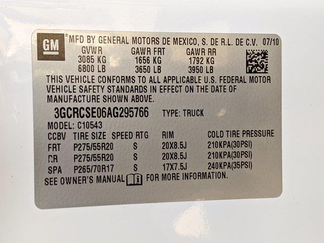 2010 Silverado 1500 Crew Cab 4x2,  Pickup #AG295766 - photo 22