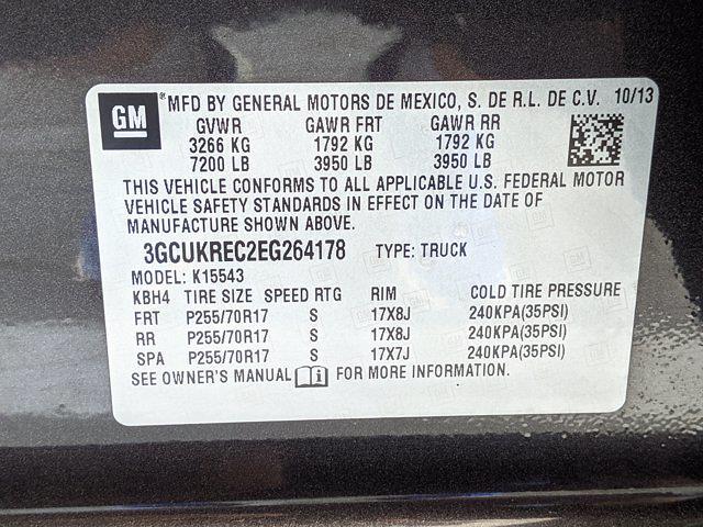 2014 Silverado 1500 Crew Cab 4x4,  Pickup #EG264178 - photo 22
