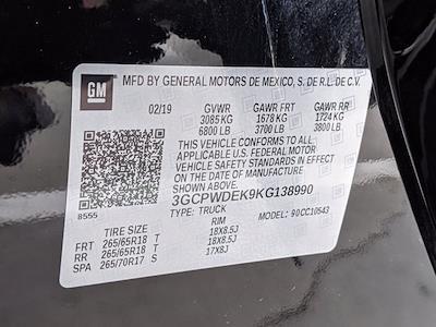 2019 Chevrolet Silverado 1500 Crew Cab 4x2, Pickup #KG138990 - photo 27