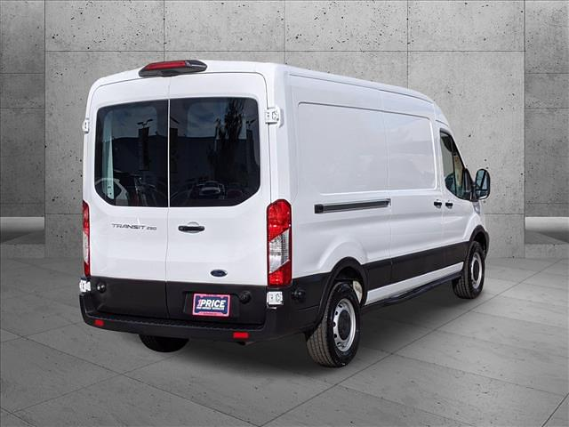 2019 Ford Transit 250 Med Roof 4x2, Empty Cargo Van #KKB65397 - photo 6