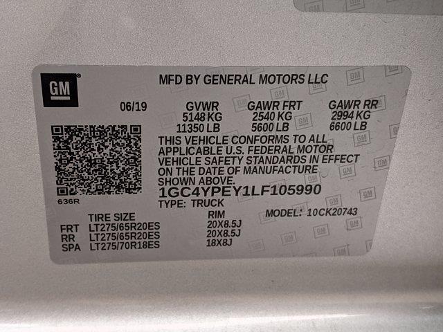 2020 Chevrolet Silverado 2500 Crew Cab 4x4, Pickup #LF105990 - photo 25