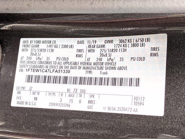 2020 F-150 SuperCrew Cab 4x2,  Pickup #LFA51330 - photo 26
