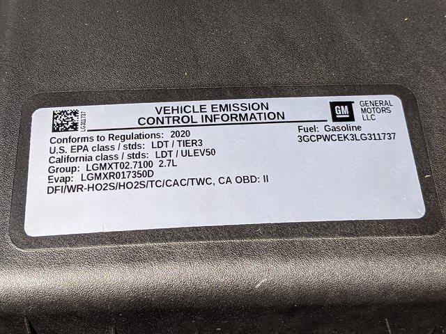 2020 Chevrolet Silverado 1500 Crew Cab 4x2, Pickup #LG311737 - photo 23