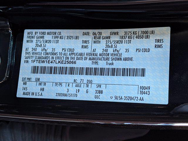 2020 Ford F-150 SuperCrew Cab 4x4, Pickup #LKE25066 - photo 29