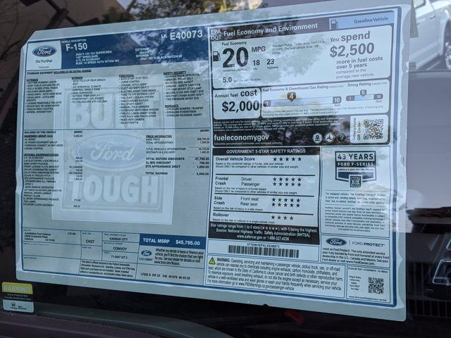 2020 Ford F-150 SuperCrew Cab 4x4, Pickup #LKE40073 - photo 17