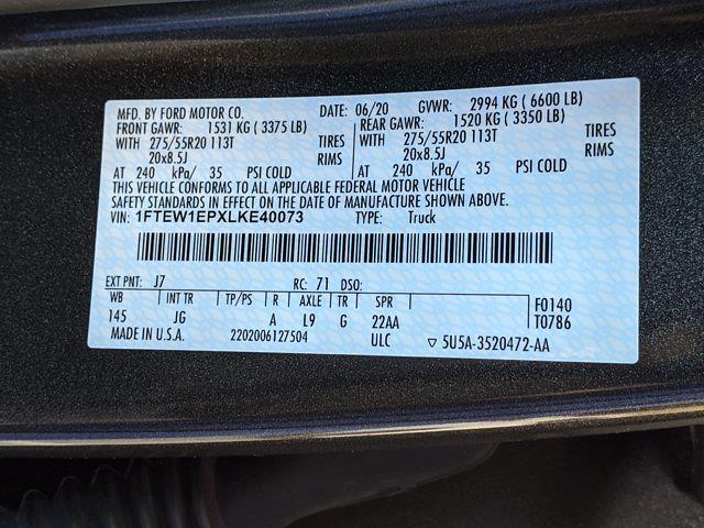 2020 Ford F-150 SuperCrew Cab 4x4, Pickup #LKE40073 - photo 42