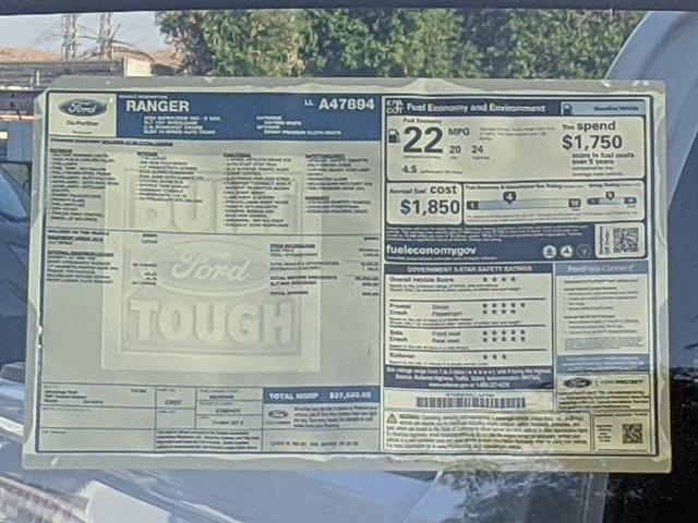 2020 Ford Ranger SuperCrew Cab 4x4, Pickup #LLA47894 - photo 9