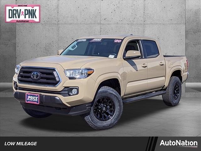 2020 Toyota Tacoma 4x2, Pickup #LX170583 - photo 1