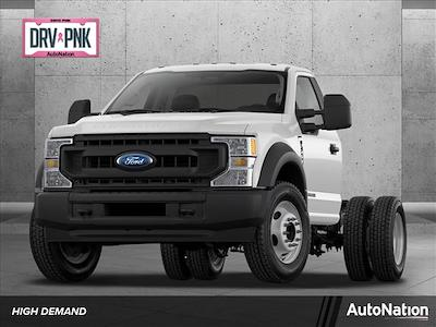 2021 Ford F-550 Regular Cab DRW 4x4, Cab Chassis #MDA01234 - photo 1