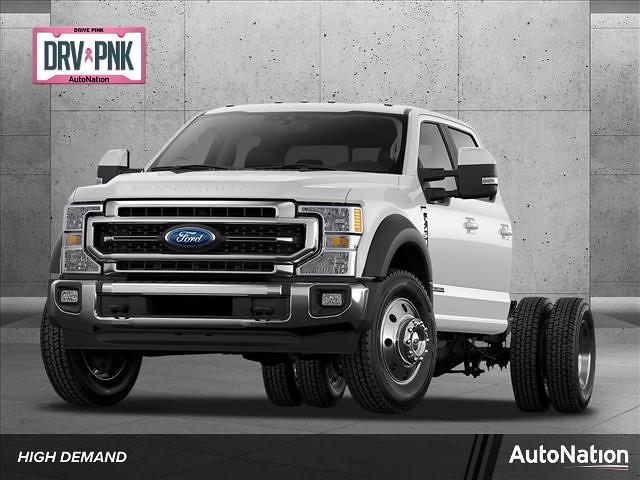 2021 Ford F-450 Crew Cab DRW 4x2, Cab Chassis #MED40625 - photo 1