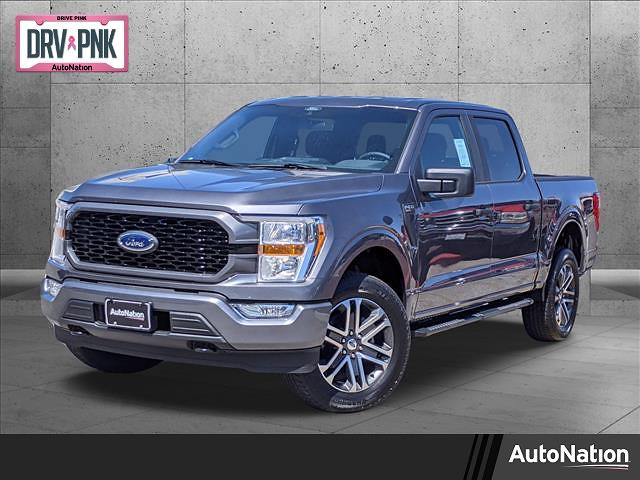 2021 Ford F-150 SuperCrew Cab 4x4, Pickup #MFA84228 - photo 1
