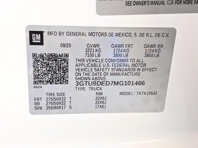 2021 Sierra 1500 Crew Cab 4x4,  Pickup #MG101466 - photo 27
