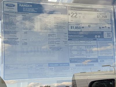 2021 Ford Ranger SuperCrew Cab 4x4, Pickup #MLD17784 - photo 7
