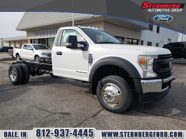 2020 Ford F-550 Regular Cab DRW 4x4, Cab Chassis #61181 - photo 1