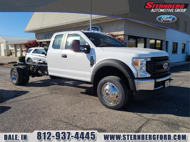 2021 Ford F-450 Super Cab DRW 4x4, Cab Chassis #61584 - photo 1
