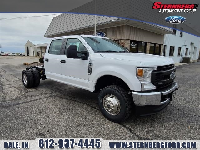 2021 Ford F-350 Crew Cab DRW 4x4, Cab Chassis #61639 - photo 1