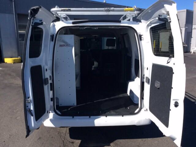 2018 Nissan NV200 FWD, Upfitted Cargo Van #J210038F - photo 1
