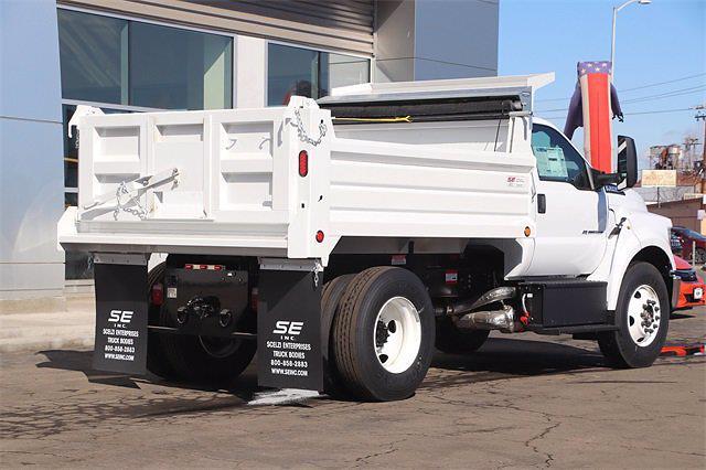 2021 Ford F-650 Regular Cab DRW 4x2, Scelzi Dump Body #T2445 - photo 1