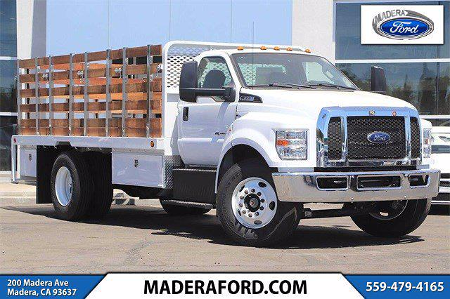 2022 Ford F-650 Regular Cab DRW 4x2, Scelzi Stake Bed #T2694 - photo 1