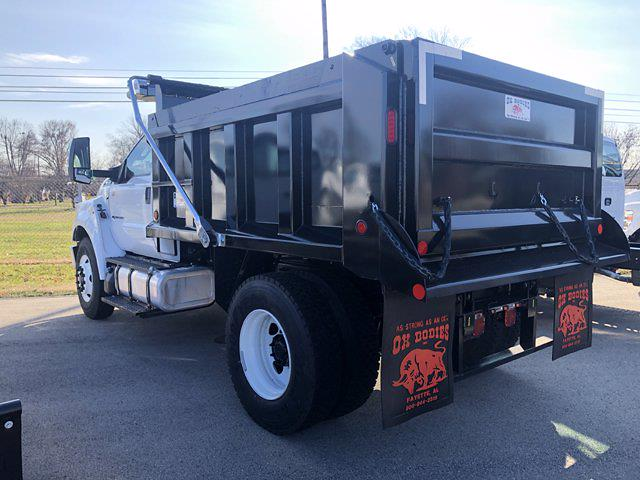 2019 Ford F-750 Regular Cab DRW 4x2, Ox Bodies Dump Body #554419 - photo 1