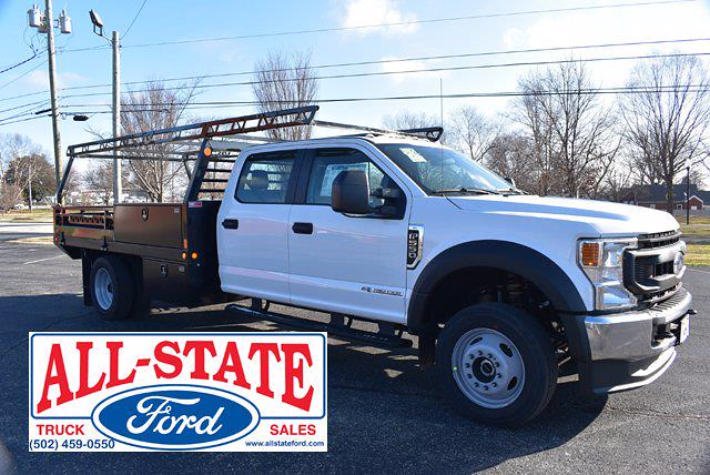 2021 Ford F-550 Crew Cab DRW 4x4, Freedom Contractor Body #565821 - photo 1