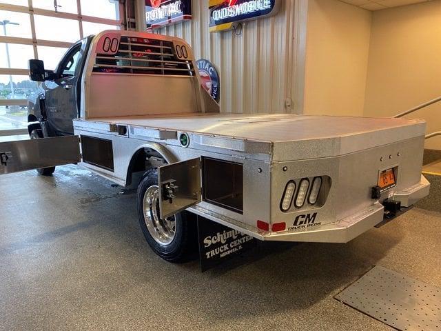 2021 Silverado 6500 Regular Cab DRW 4x4,  CM Truck Beds Platform Body #C4491 - photo 12