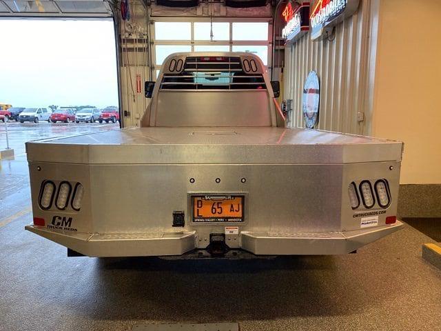 2021 Silverado 6500 Regular Cab DRW 4x4,  CM Truck Beds Platform Body #C4491 - photo 3