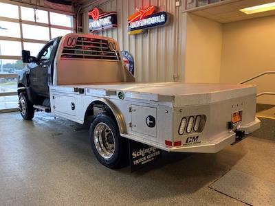 2021 Silverado 6500 Regular Cab DRW 4x4,  CM Truck Beds Platform Body #C4491 - photo 1