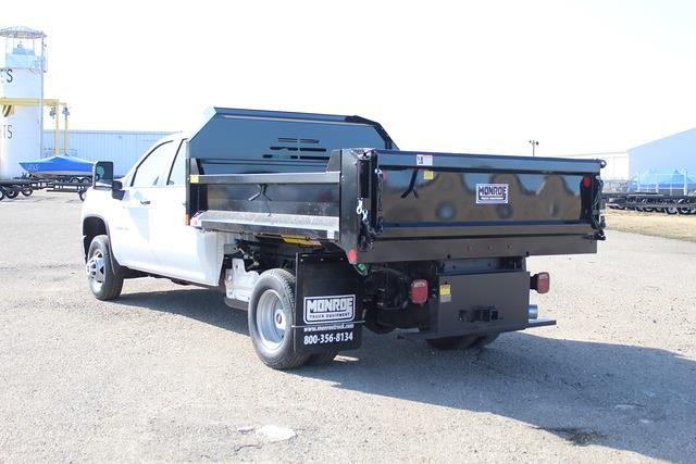 2021 Chevrolet Silverado 3500 Crew Cab 4x4, Monroe Dump Body #1282 - photo 1