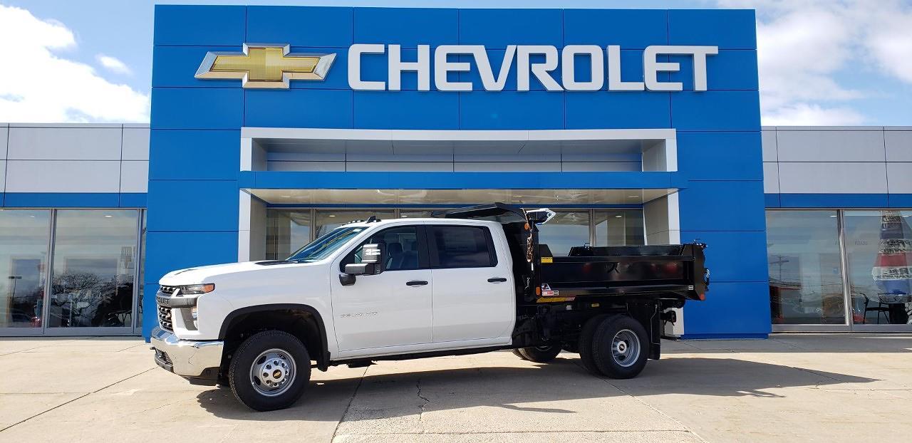 2021 Chevrolet Silverado 3500 Crew Cab 4x4, Monroe Dump Body #1299 - photo 1
