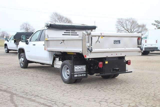 2021 Chevrolet Silverado 3500 Crew Cab 4x4, Monroe Dump Body #1311 - photo 1