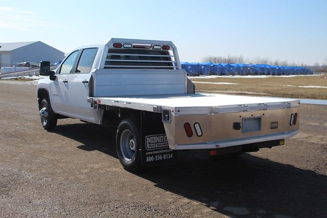 2021 Chevrolet Silverado 3500 Crew Cab 4x4, Monroe Platform Body #1317 - photo 1