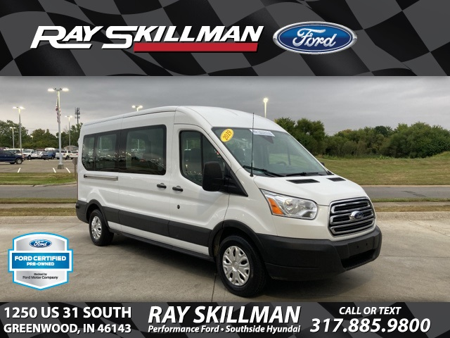 2019 Ford Transit 350 Med Roof 4x2, Passenger Wagon #S4452 - photo 1