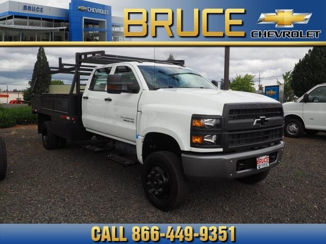 2019 Chevrolet Silverado 5500 Crew Cab DRW 4x4, The Fab Shop Contractor Body #1980308 - photo 3