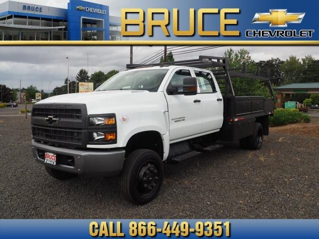2019 Chevrolet Silverado Medium Duty Crew Cab DRW 4x4, The Fab Shop Contractor Body #1980308 - photo 1
