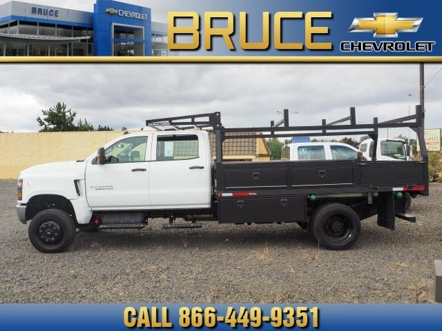 2019 Chevrolet Silverado 5500 Crew Cab DRW 4x4, The Fab Shop Contractor Body #1980308 - photo 4