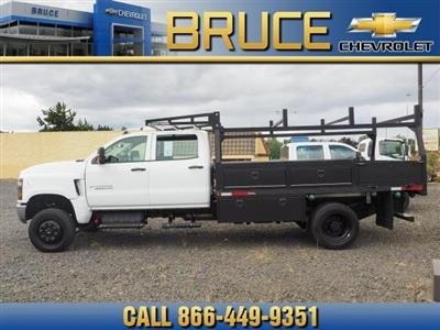 2019 Chevrolet Silverado Medium Duty Crew Cab DRW 4x4, The Fab Shop Contractor Body #1980308 - photo 4