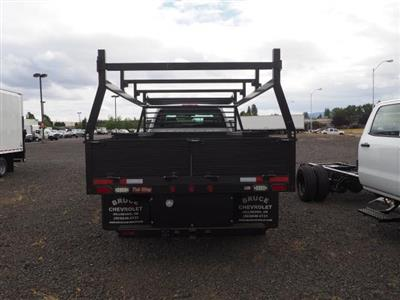 2019 Chevrolet Silverado Medium Duty Crew Cab DRW 4x4, The Fab Shop Contractor Body #1980308 - photo 5