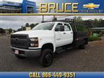 2019 Chevrolet Silverado 5500 Crew Cab DRW 4x4, The Fab Shop Contractor Body #1980308 - photo 1