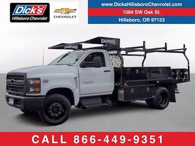 2020 Silverado Medium Duty Regular Cab DRW 4x2,  Knapheide Contractor Body #LH281012 - photo 1