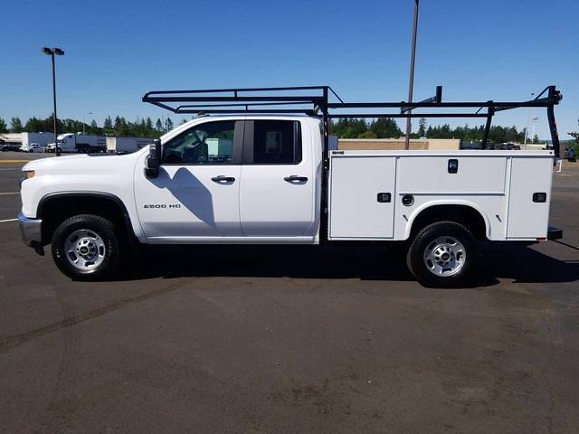 2021 Chevrolet Silverado 2500 Double Cab 4x4, Cab Chassis #MF211680 - photo 1