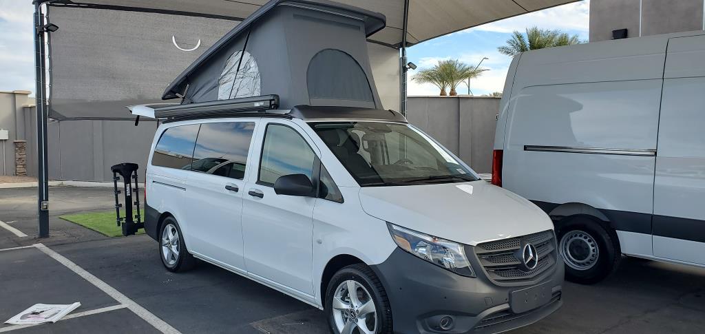 2020 Mercedes-Benz Metris Standard Roof 4x2, Metris Getaway Camper Pop-Top Camper Van #S07301 - photo 1