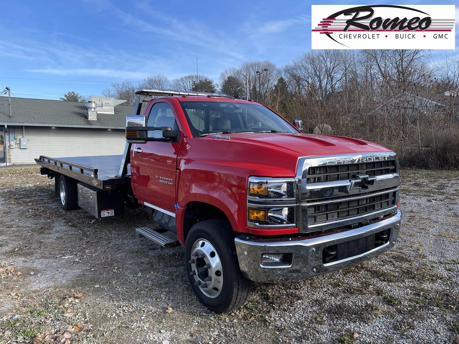 2020 Chevrolet Silverado 6500 Regular Cab DRW 4x2, Danco Rollback Body #201081D - photo 1