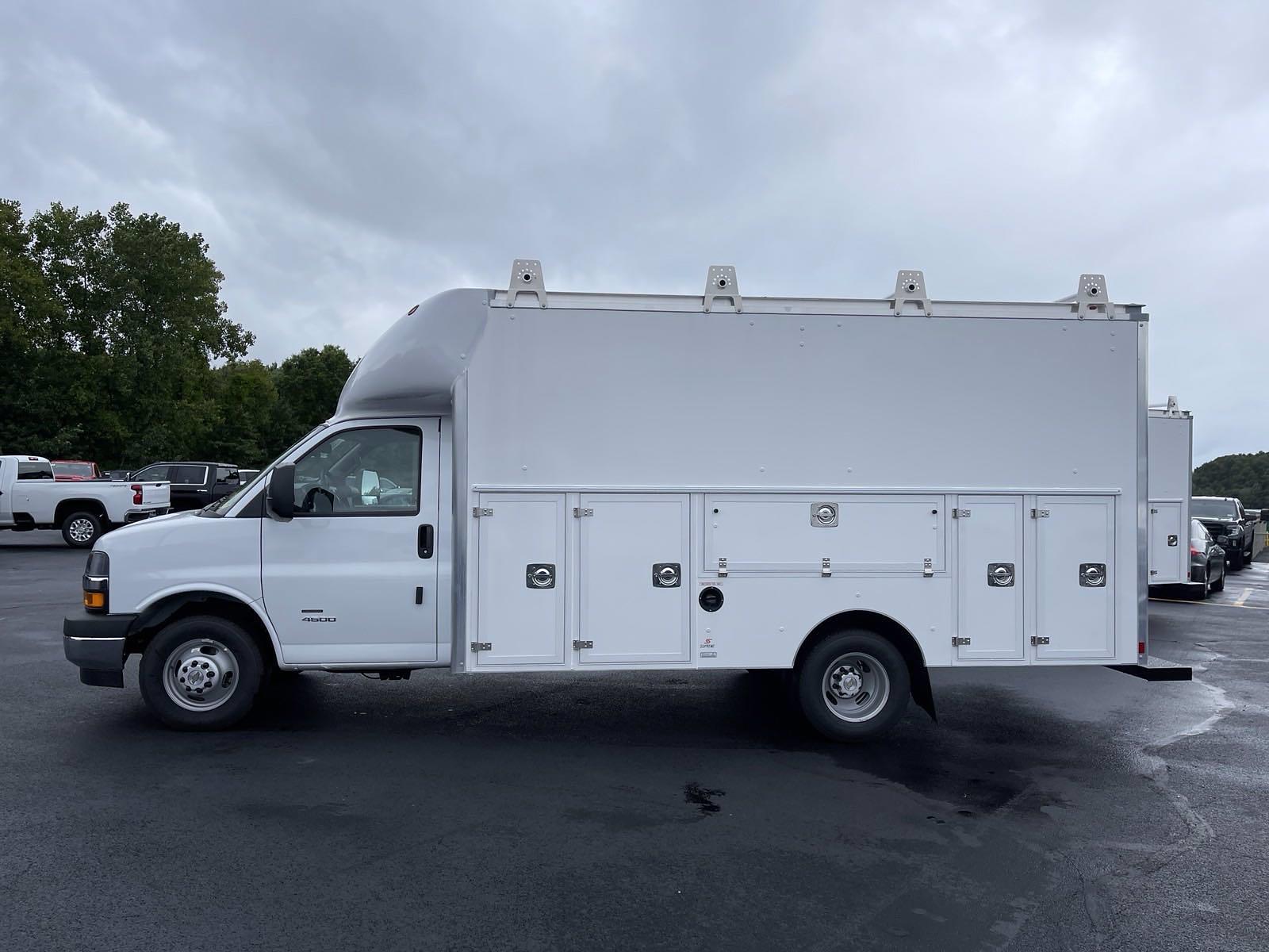 2021 Express 4500 DRW 4x2,  Supreme Spartan Service Utility Van #21865 - photo 6