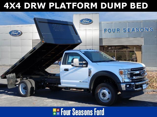 2020 Ford F-550 Regular Cab DRW 4x4, Platform Dump #T20539 - photo 1