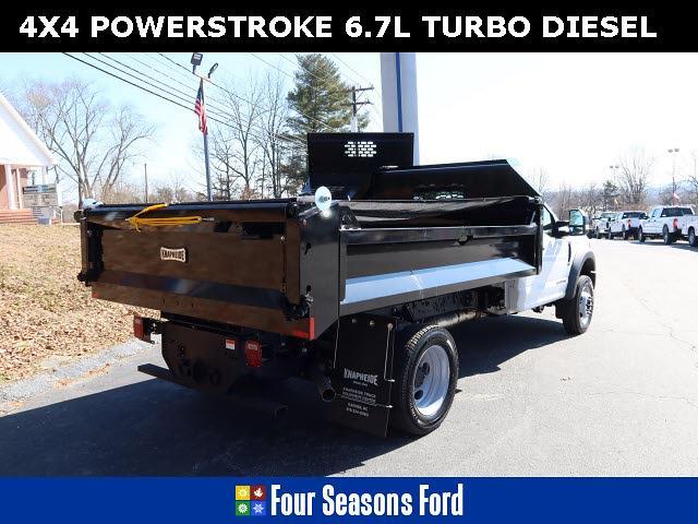 2020 Ford F-550 Regular Cab DRW 4x4, Knapheide Dump Body #T20569 - photo 1